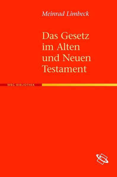 Das Gesetz im Alten und Neuen Testament - Coverbild