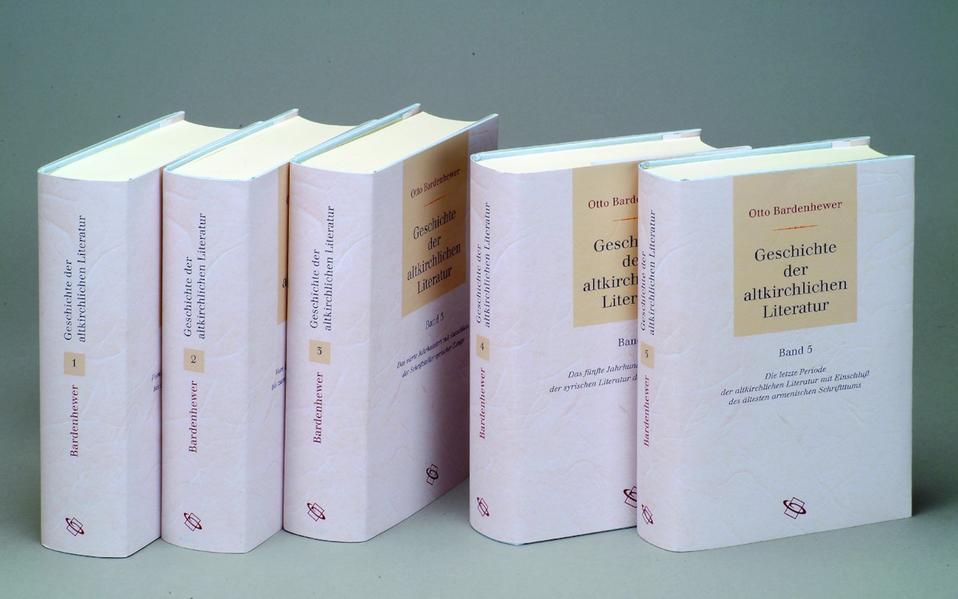Geschichte der altkirchlichen Literatur - Coverbild