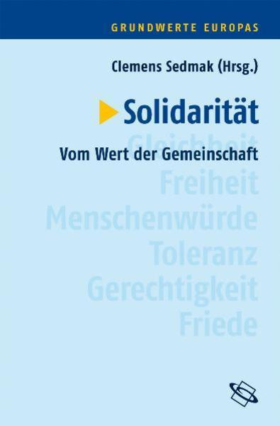 Grundwerte Europas / Solitarität - Coverbild