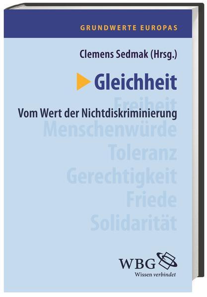 Grundwerte Europas / Gleichheit - Coverbild