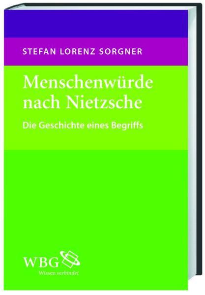 Menschenwürde nach Nietzsche - Coverbild
