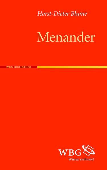 Menander - Coverbild