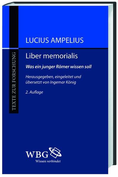Liber memorialis - Coverbild