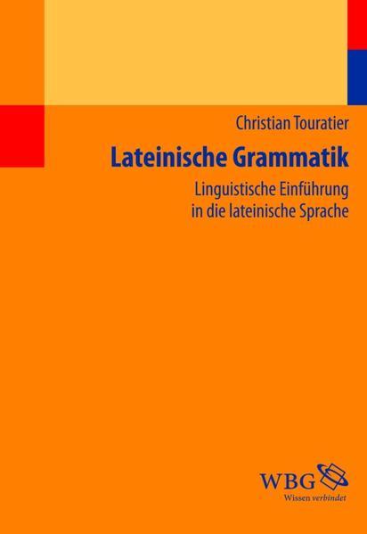 Lateinische Grammatik - Coverbild