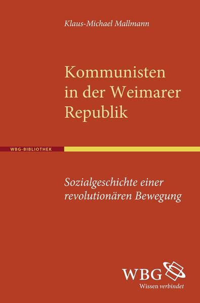 Kommunisten in der Weimarer Republik - Coverbild