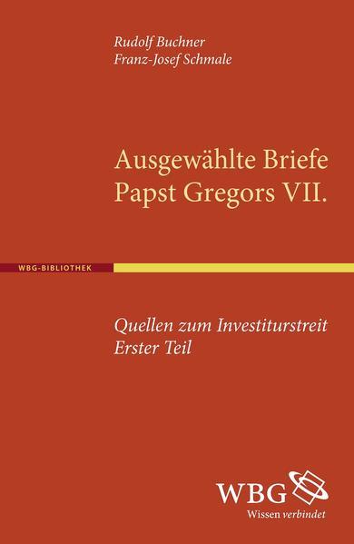 Quellen zum Investiturstreit. Erster Teil - Coverbild