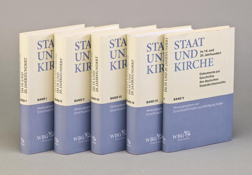Staat und Kirche im 19. und 20. Jahrhundert - Coverbild
