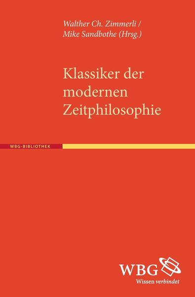 Klassiker der modernen Zeitphilosophie - Coverbild