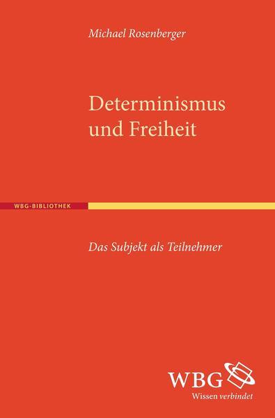 Determinismus und Freiheit - Coverbild