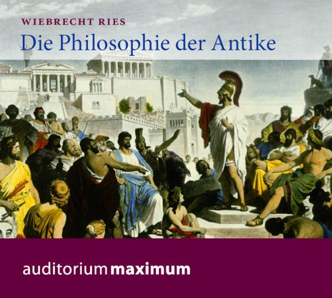Die Philosophie der Antike - Coverbild