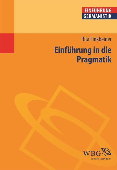 Einführung in die Pragmatik - Coverbild