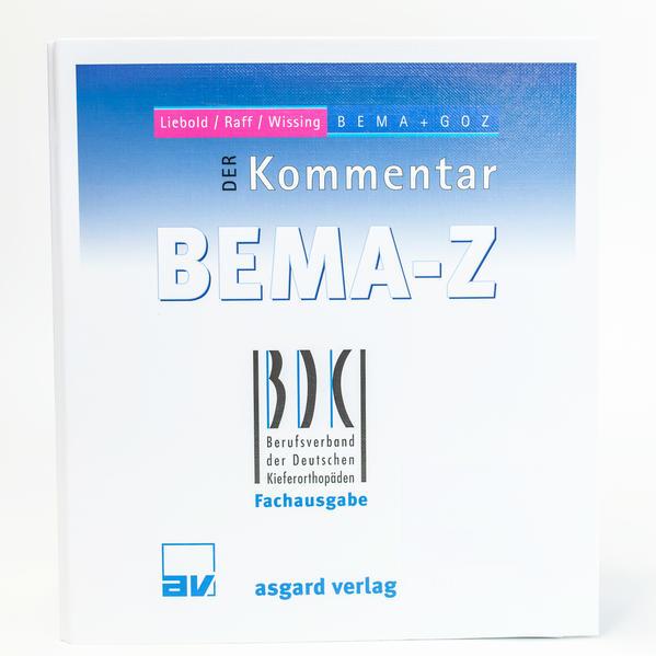 DER Kommentar BEMA-Z - BDK-Fachausgabe - Coverbild