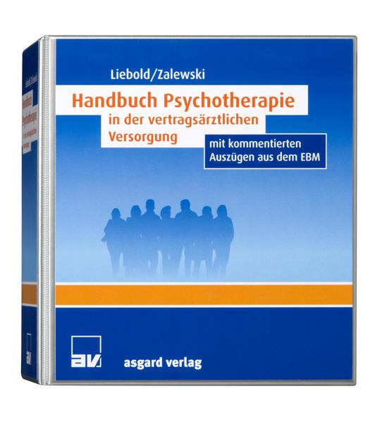 Handbuch Psychotherapie in der vertragsärztlichen Versorgung - Coverbild