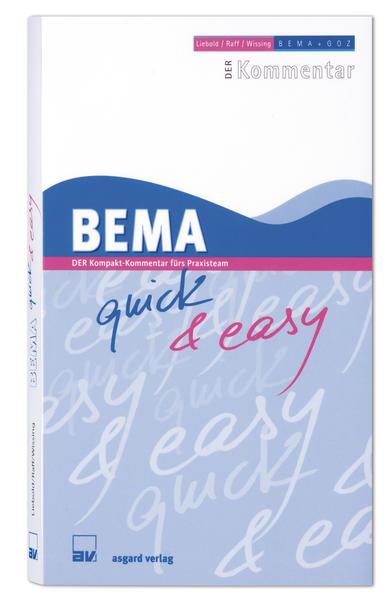 BEMA quick & easy - Coverbild