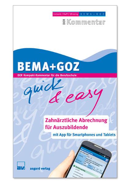 BEMA + GOZ quick & easy - Coverbild