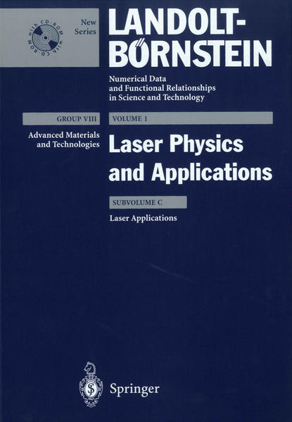 Laser Applications - Coverbild