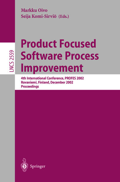 Product Focused Software Process Improvement - Coverbild