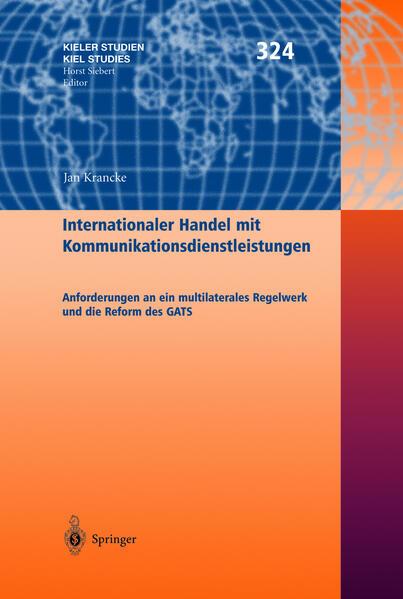 Internationaler Handel mit Kommunikationsdienstleistungen - Coverbild