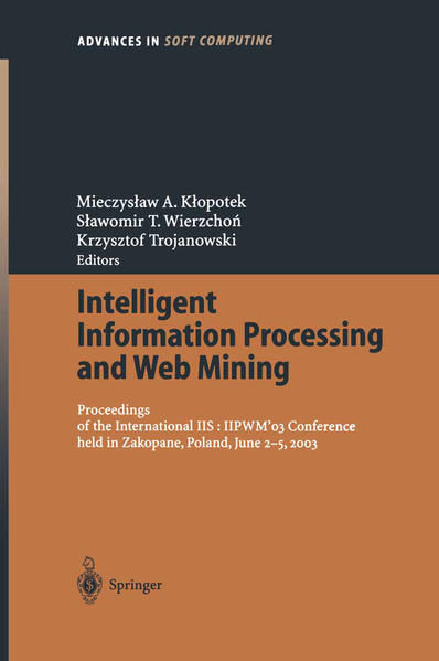 Intelligent Information Processing and Web Mining - Coverbild