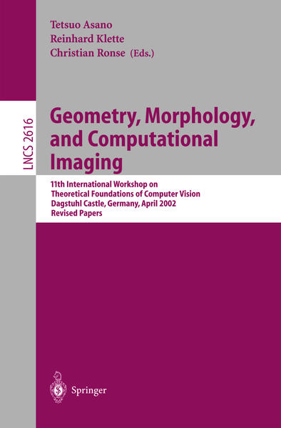 Geometry, Morphology, and Computational Imaging - Coverbild