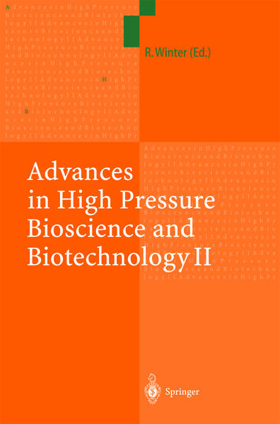Advances in High Pressure Bioscience and Biotechnology II - Coverbild