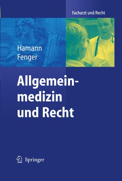 Allgemeinmedizin und Recht - Coverbild