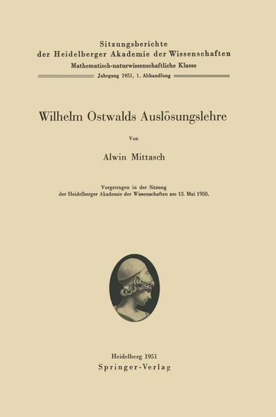 Wilhelm Ostwalds Auslösungslehre - Coverbild