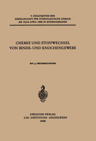 Chemie und Stoffwechsel von Binde- und Knochengewebe - Coverbild