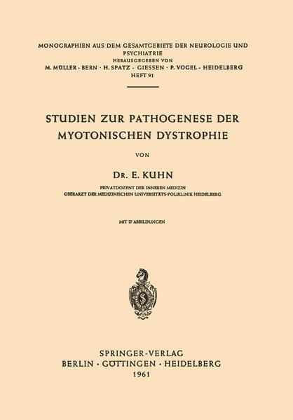 Studien zur Pathogenese der Myotonischen Dystrophie - Coverbild