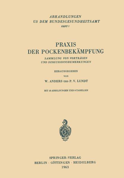 Praxis der Pockenbekämpfung - Coverbild