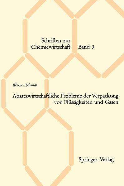 Absatzwirtschaftliche Probleme der Verpackung von Flüssigkeiten und Gasen - Coverbild