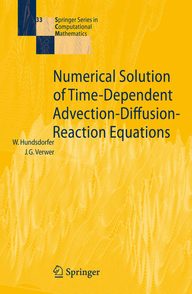 Numerical Solution of Time-Dependent Advection-Diffusion-Reaction Equations - Coverbild