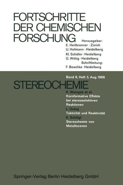 Stereochemie - Coverbild