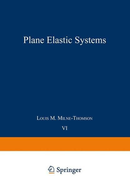 Plane Elastic Systems - Coverbild