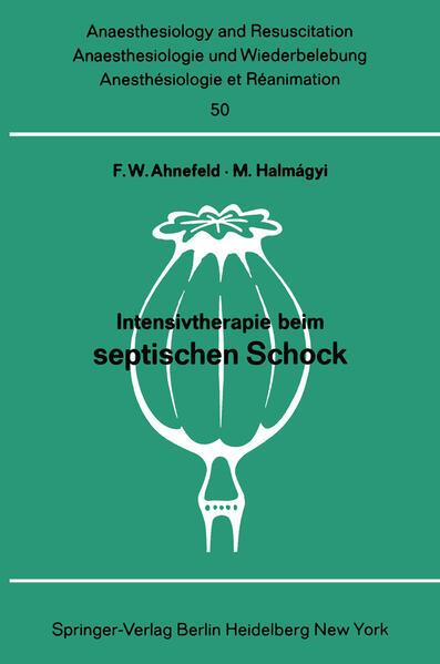 Intensivtherapie beim septischen Schock - Coverbild