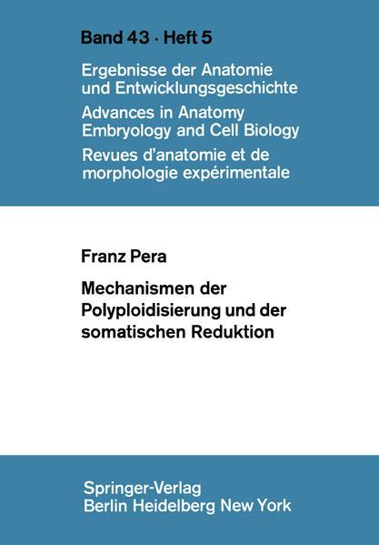 Mechanismen der Polyploidisierung und der somatischen Reduktion - Coverbild