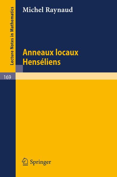 Anneaux Locaux Henseliens - Coverbild