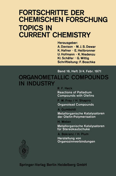Organometallic Compounds in Industry - Coverbild