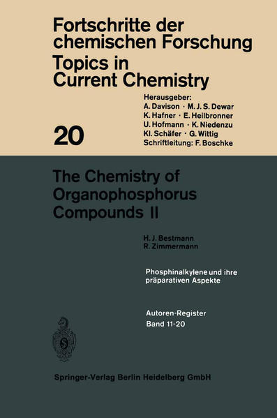 The Chemistry of Organophosphorus Compounds II - Coverbild