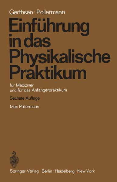 Einführung in das Physikalische Praktikum - Coverbild