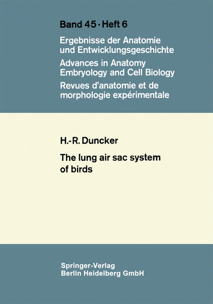 The Lung Air Sac System of Birds - Coverbild