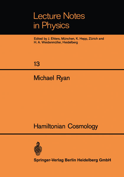 Hamiltonian Cosmology - Coverbild
