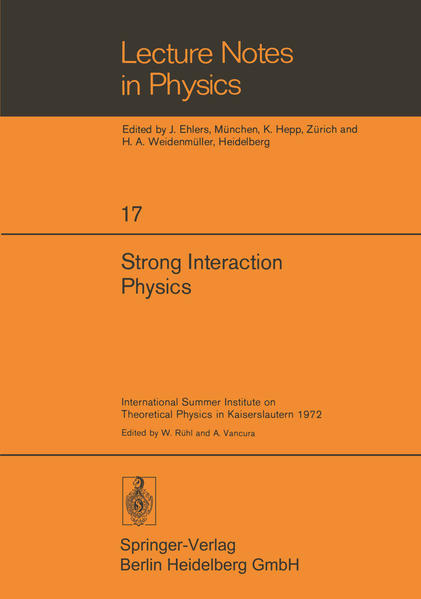 Strong Interaction Physics - Coverbild