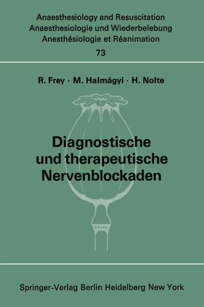 Diagnostische und therapeutische Nervenblockaden - Coverbild