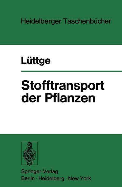 Stofftransport der Pflanzen - Coverbild