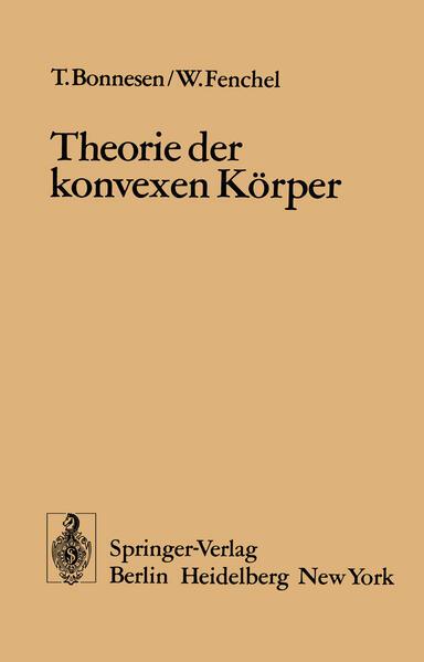 Theorie der konvexen Körper - Coverbild