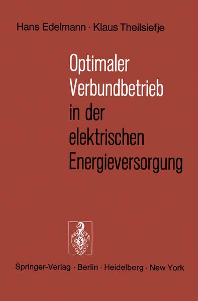 Optimaler Verbundbetrieb in der elektrischen Energieversorgung - Coverbild