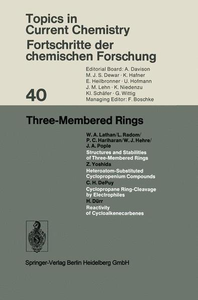 Three-Membered Rings - Coverbild