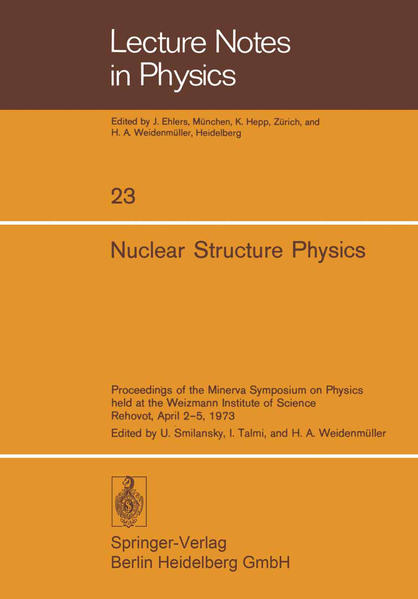 Nuclear Structure Physics - Coverbild