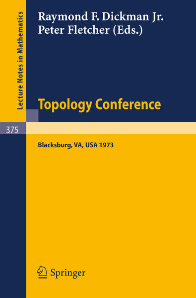 Topology Conference - Coverbild